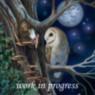 barn owl and fairy artwork