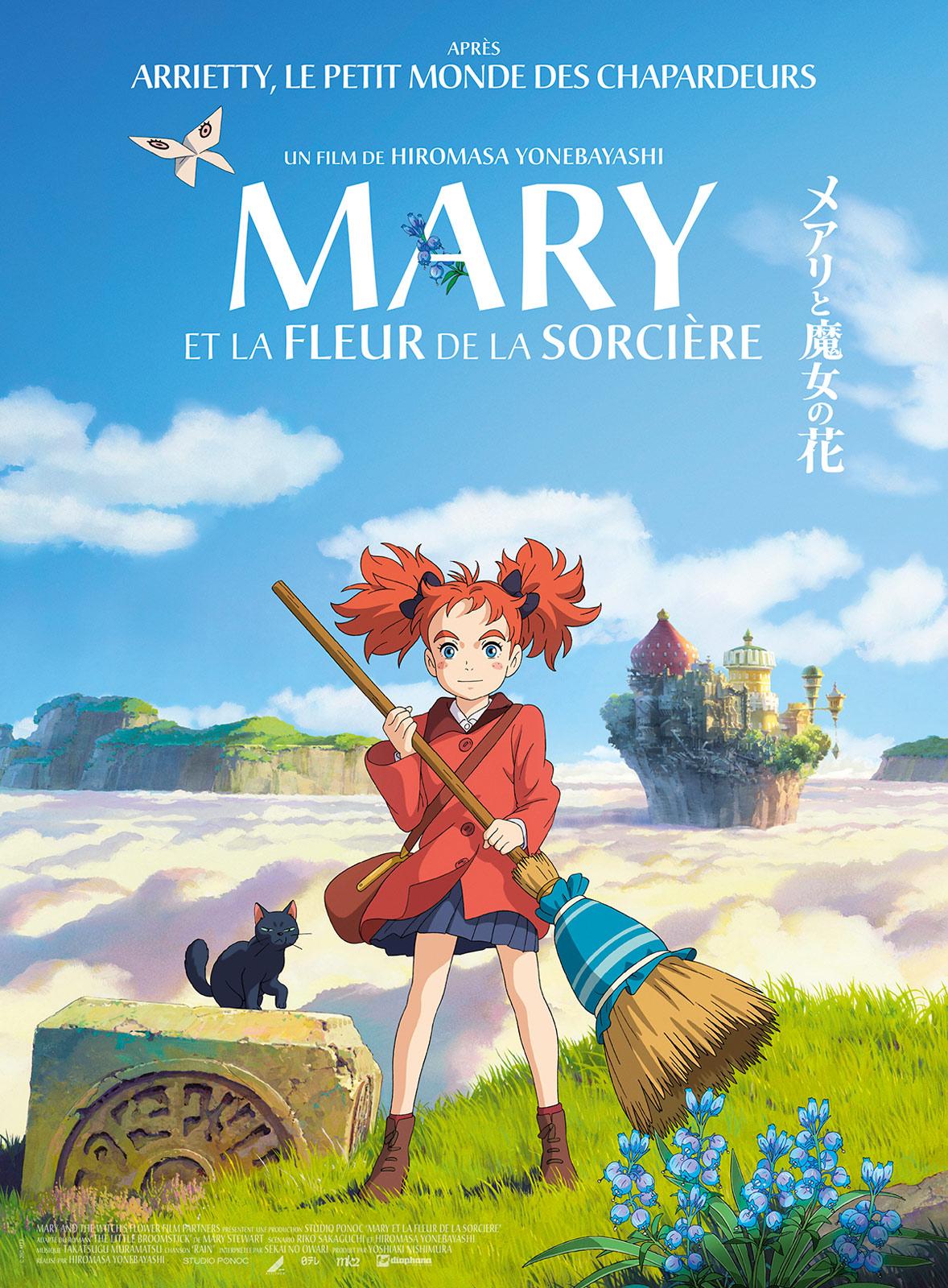 affiche de film mary et la fleur de la sorcière