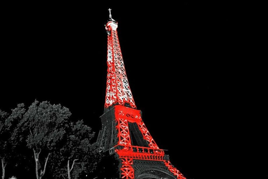 Paris Eiffelturm Original Fotografik