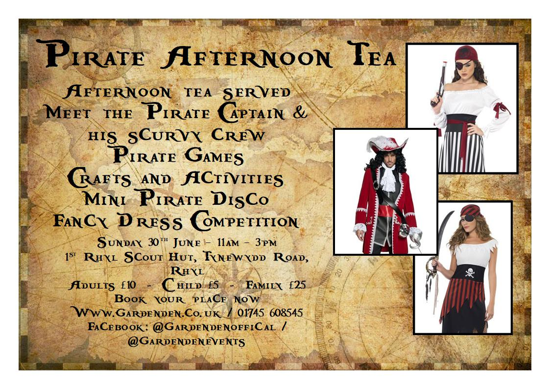 Pirate Afternoon Tea