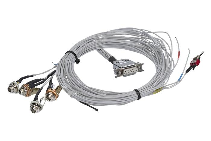 KBS2 Doppelsitzer-Kabelsatz (2 Buchsen für Mikrofon und Headset)