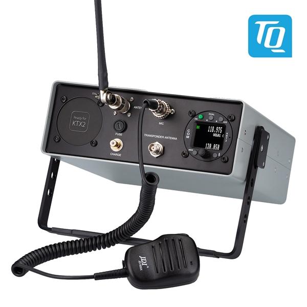 TB2 R - Tragbare Funkstation groß mit KRT2 und Slot zum Nachrüsten eines KTX2