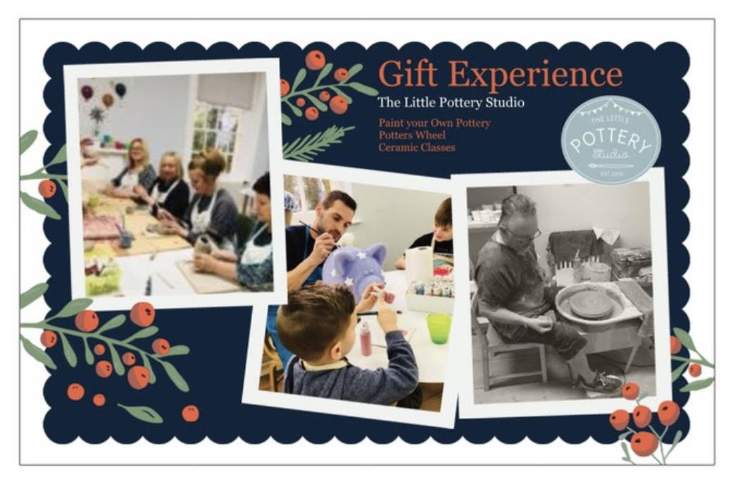 Paint Your Own Pottery Gift Voucher