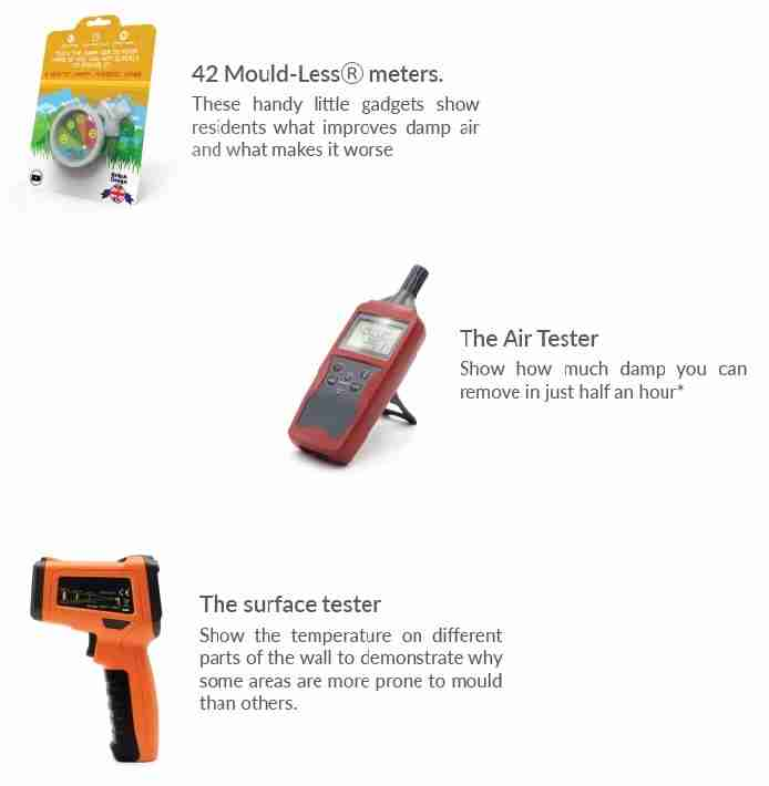 Mould Less Surveyor pack