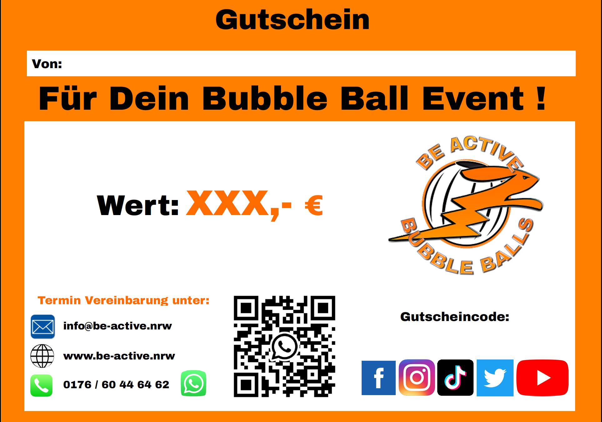 Be Active - Bubble Balls