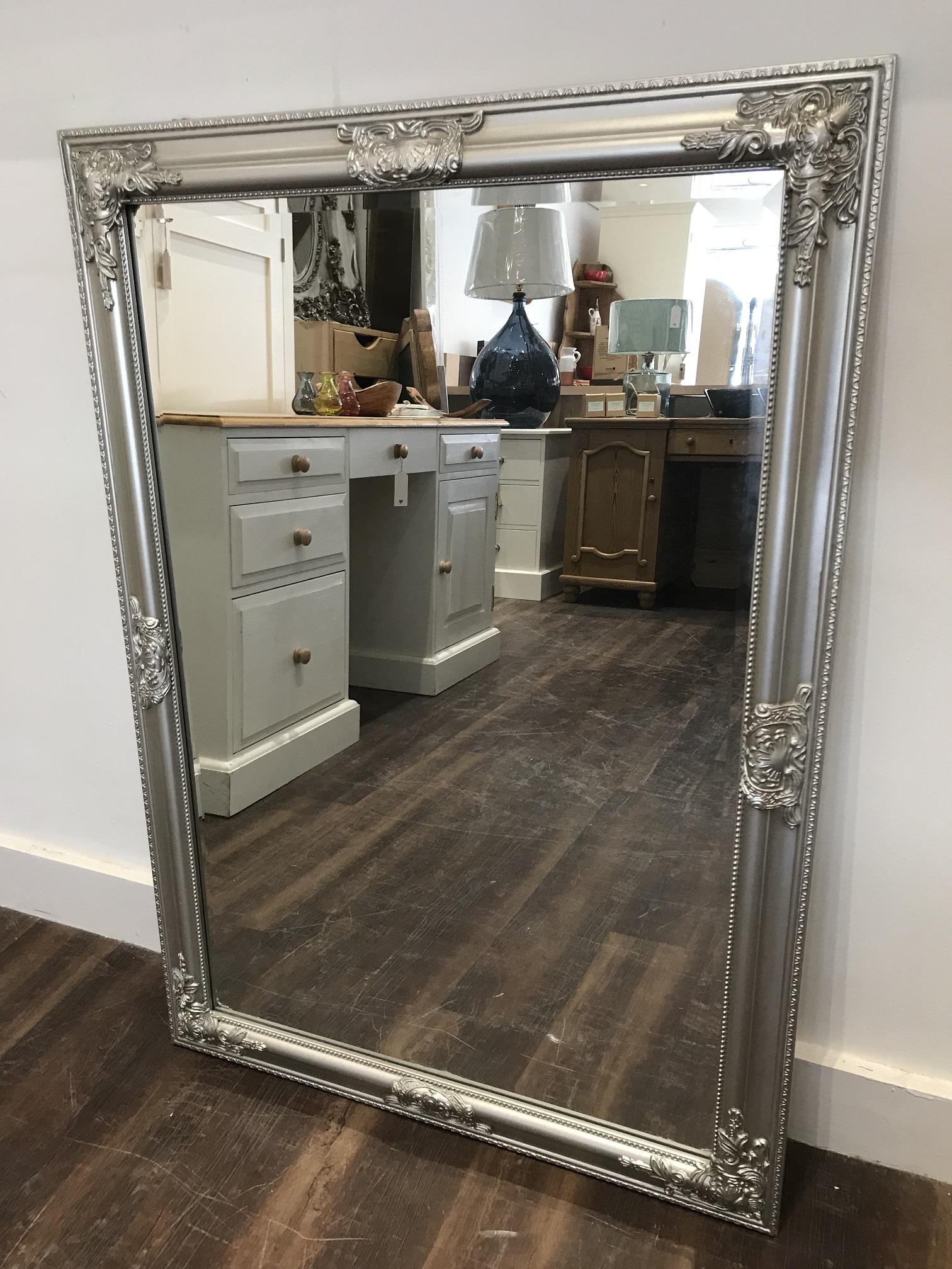 Silver Churchill Hill Mirror