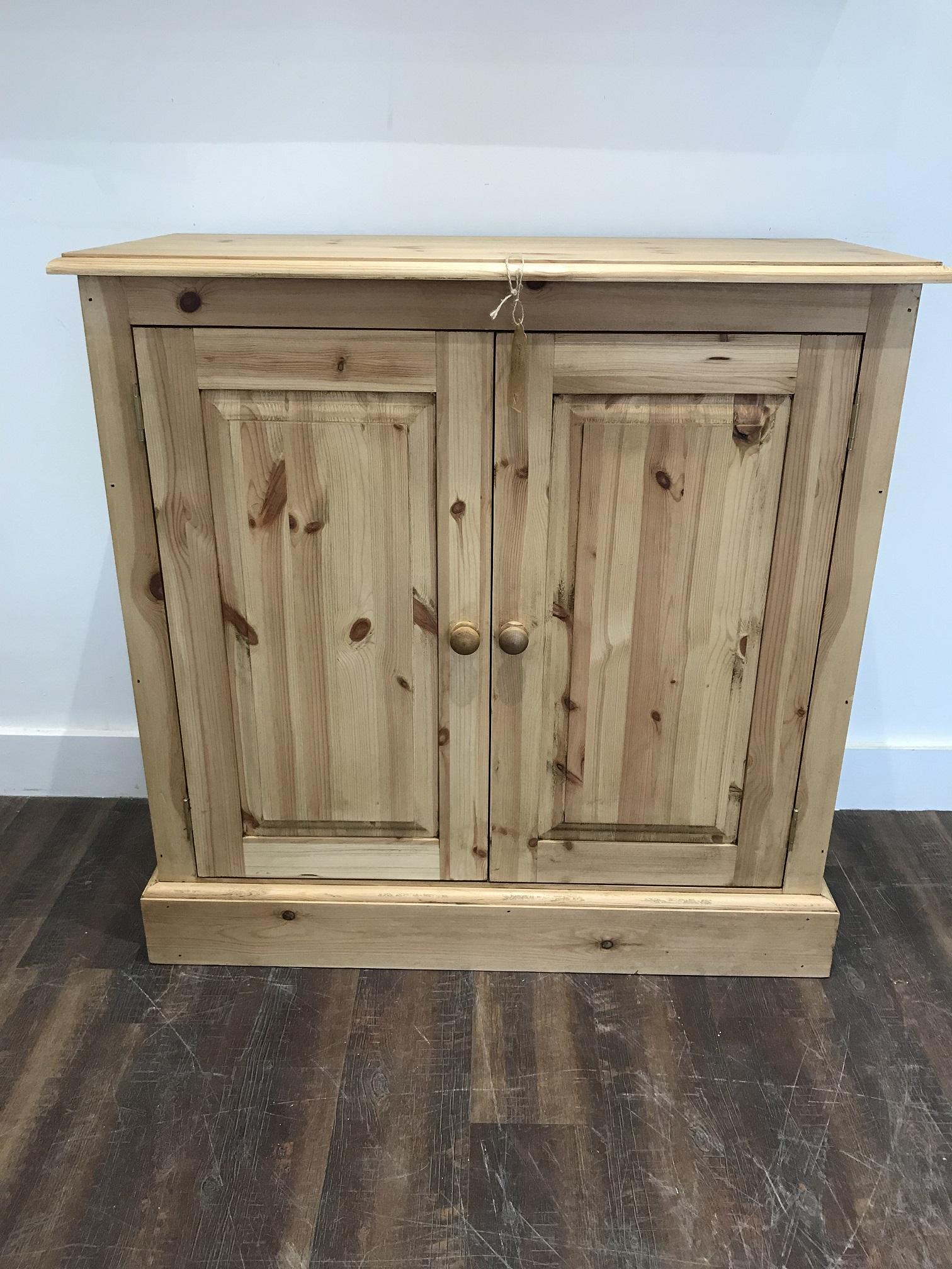 Waxed Pine Cupboard