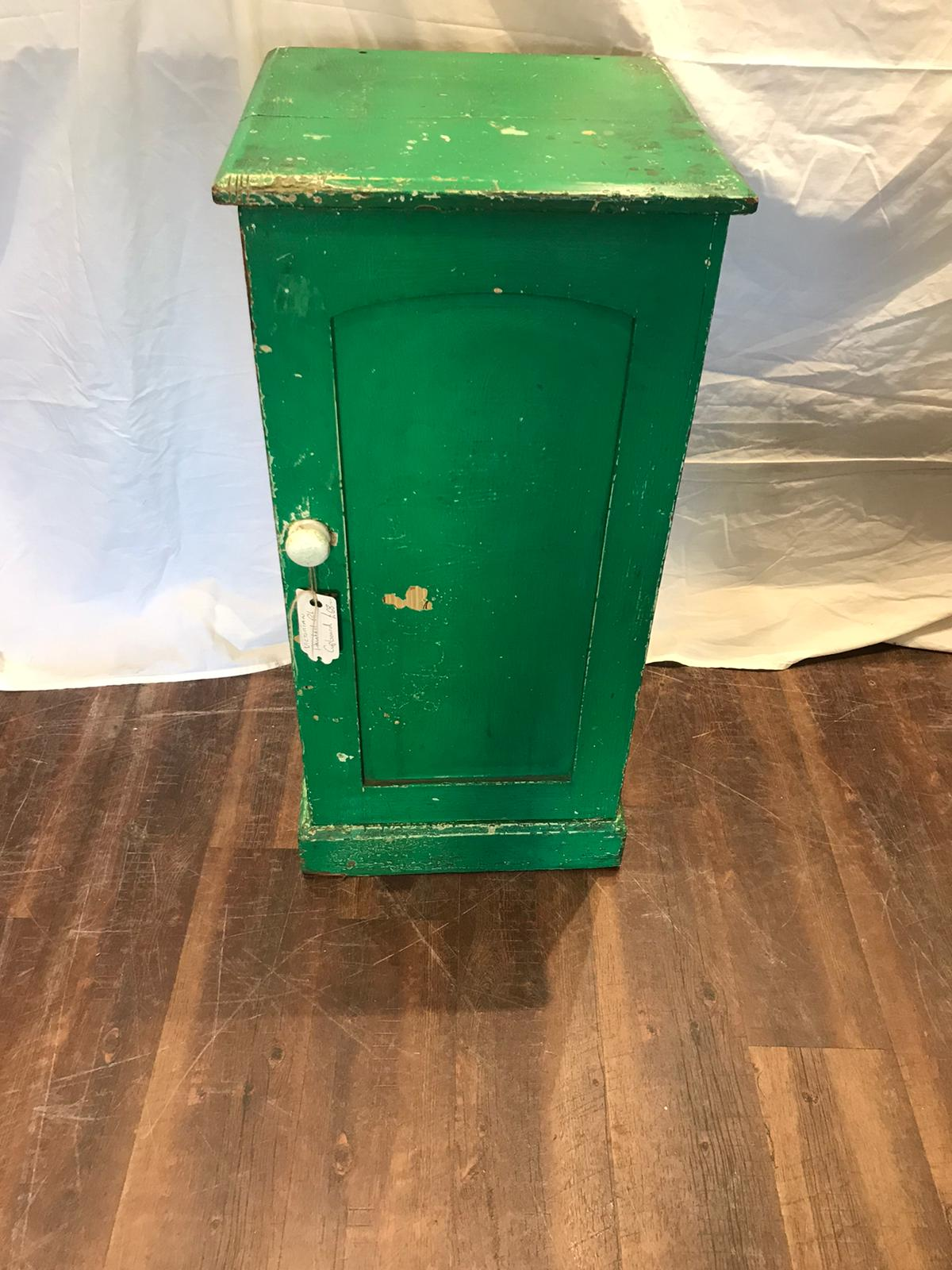 Victorian Painted Pot Cupboard