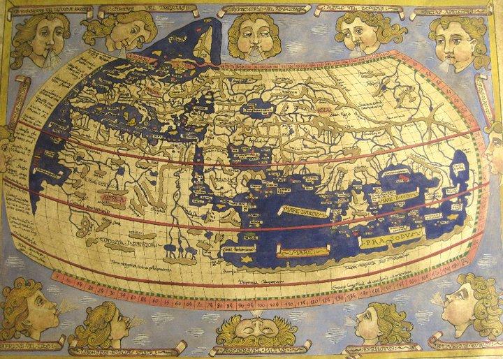 mapa ptolomeo