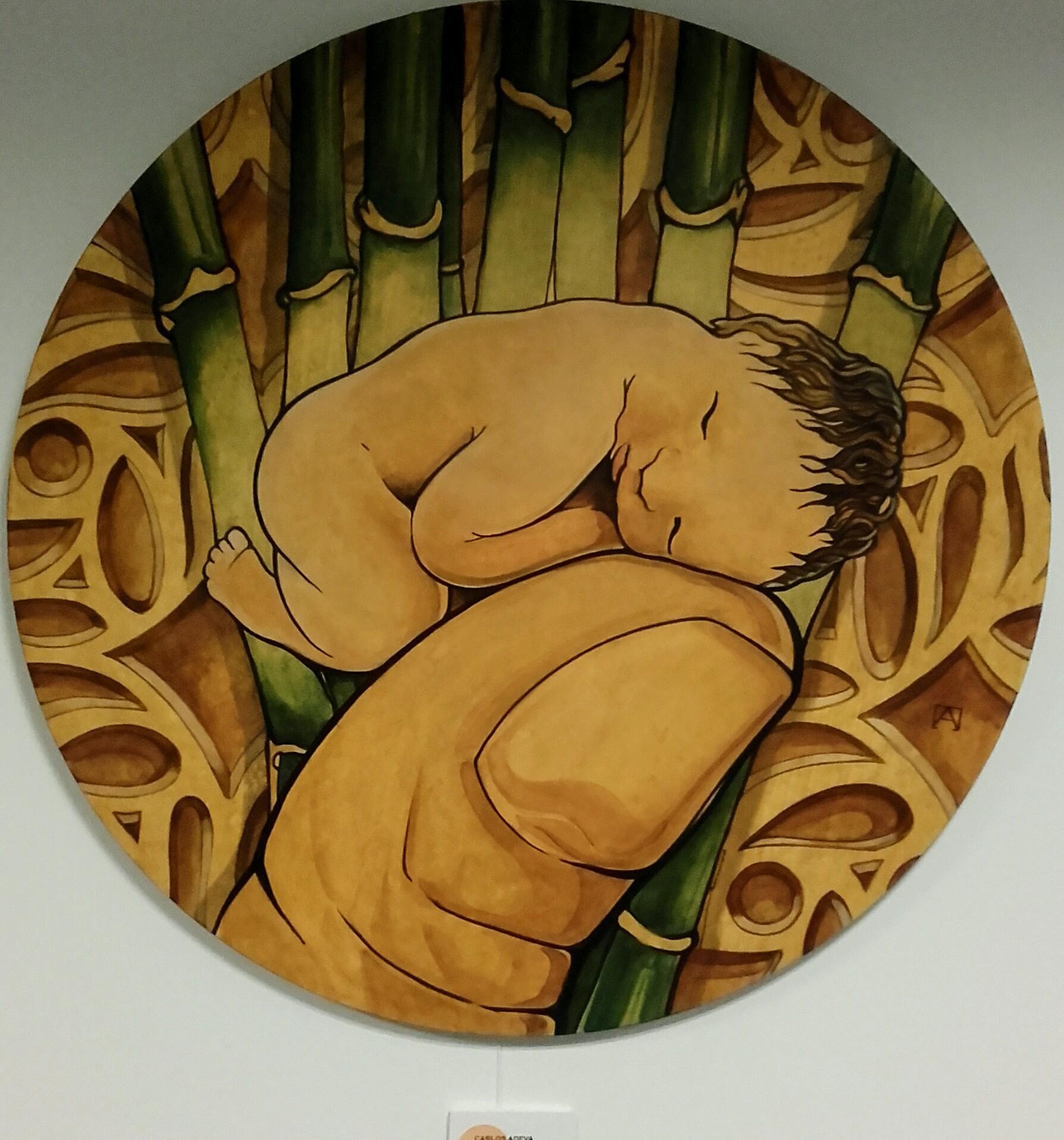 la niña del bambú