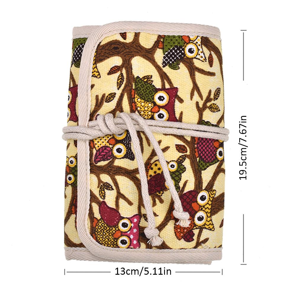 Trousse pour Crochet en Tissu