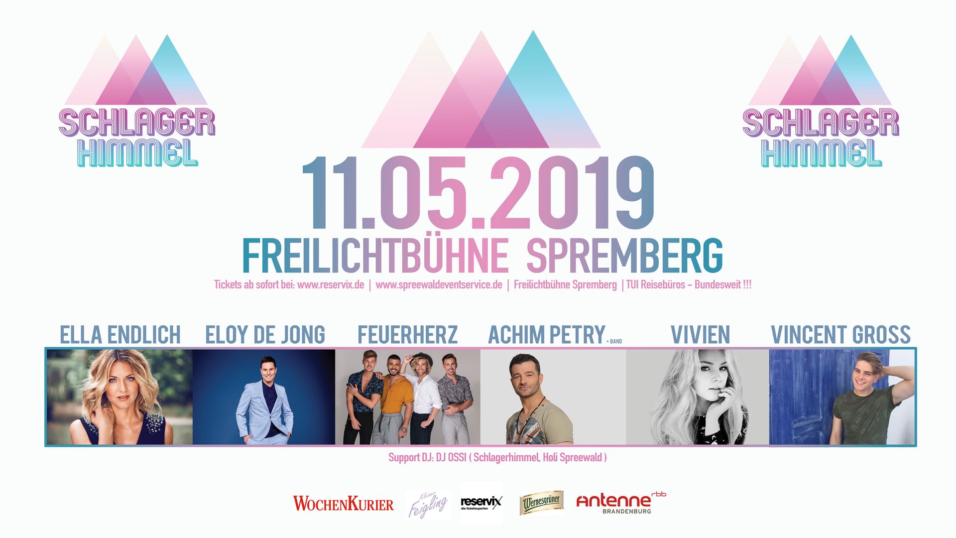 Ticket Schlagerhimmel 2019
