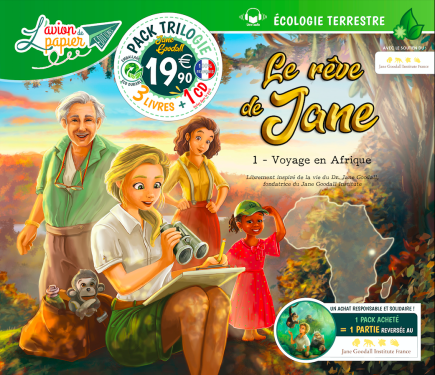PACK TRILOGIE - LE RÊVE DE JANE