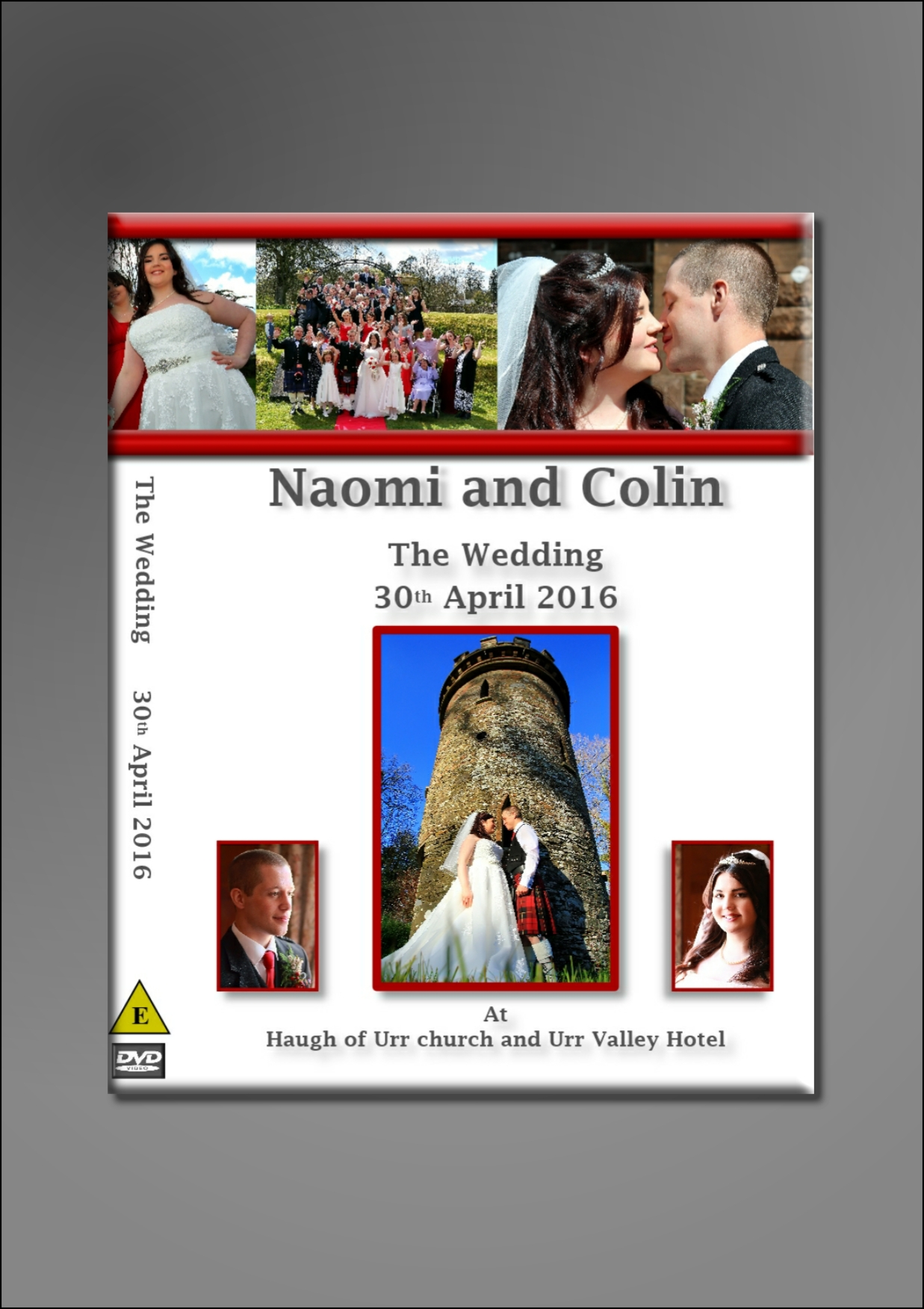 Naomi and Colin's DVD