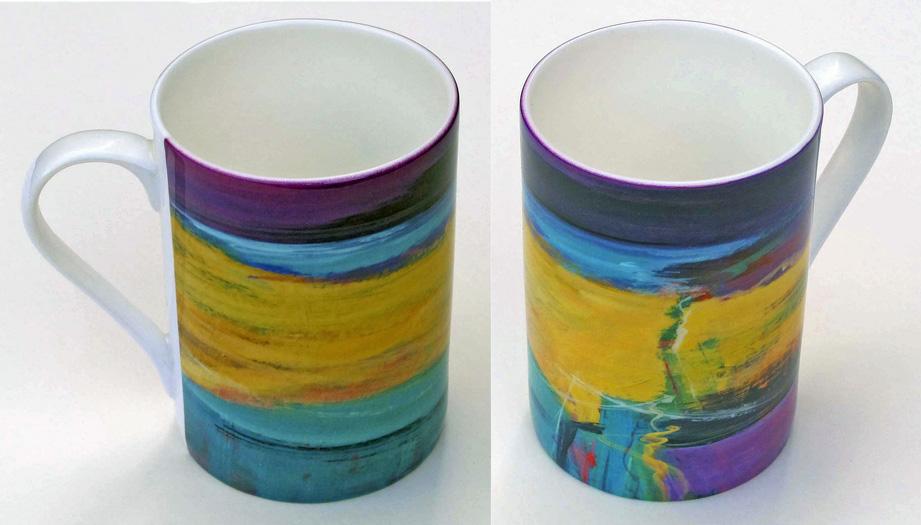 Bone china mug Opus 242