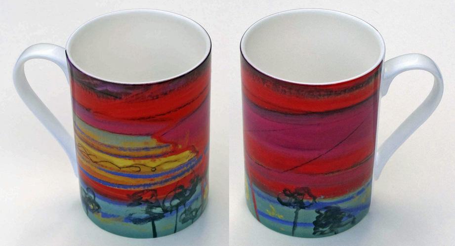 Bone china mug Opus 358