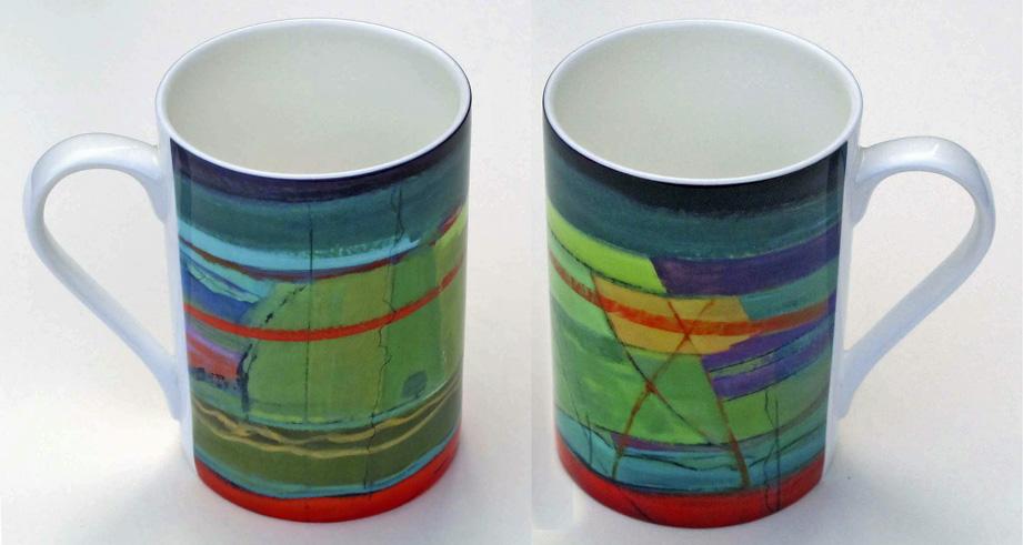 Bone china mug Opus 334