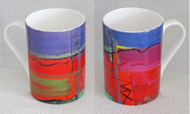Bone china mug Opus 389