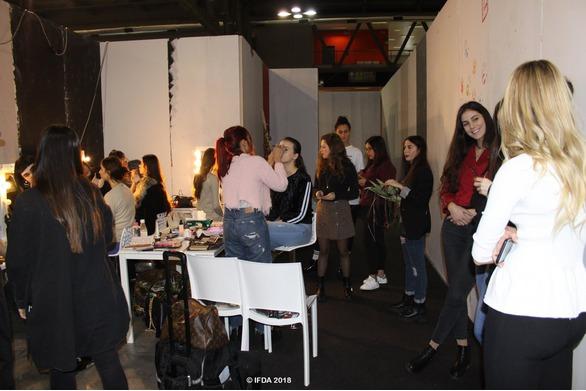 Backstage Sfilata IFDA