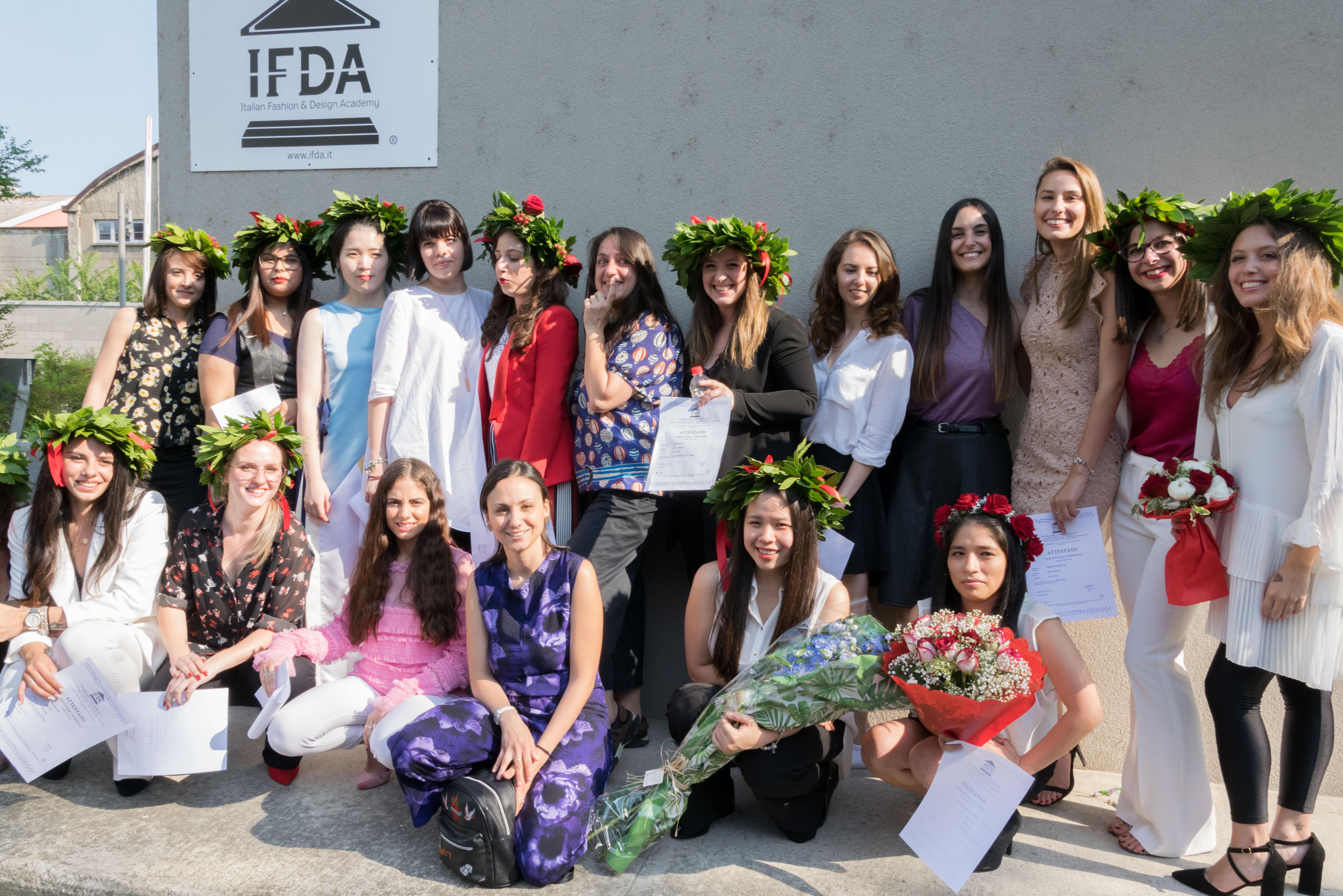 IFDA fashion graduation