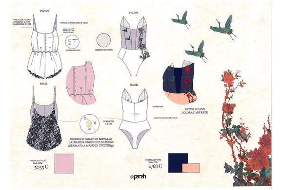 Progetto Collezione Lingerie IFDA-Parah