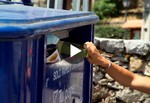 ¿Que puedo tirar en el contenedor azul?