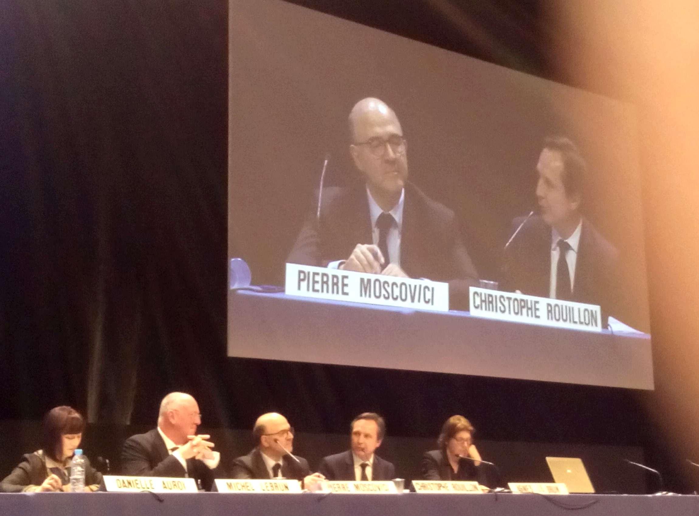 Pierre Moscovici au Congrès