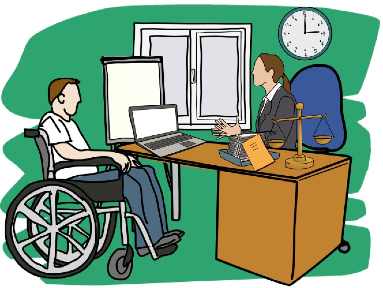abogado discapacidad Madrid, Zaragoza.