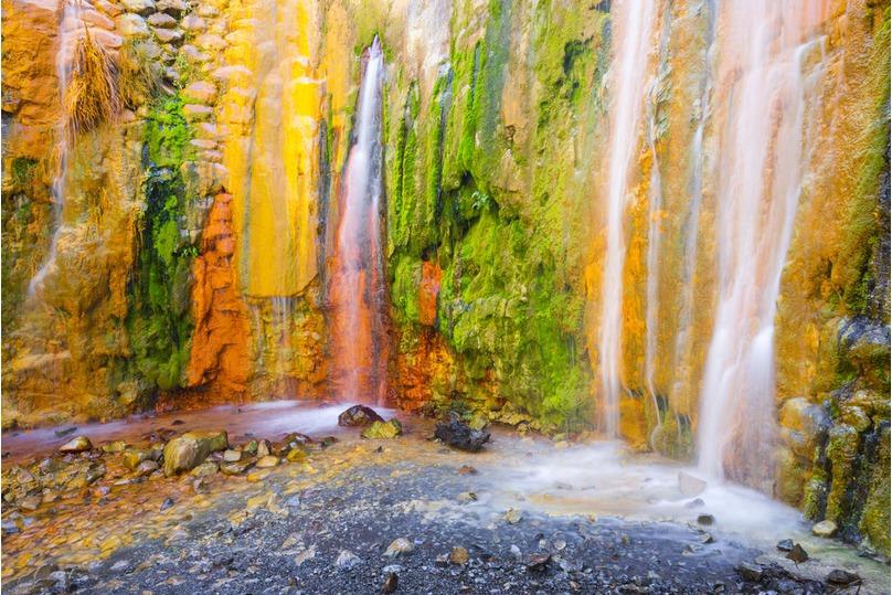 Cascada de siete colores