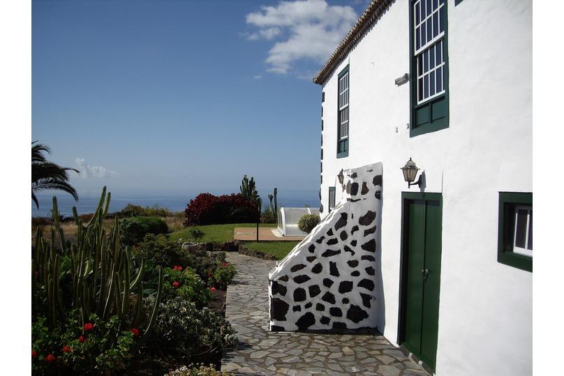 Jardín de la Casa Rural El Pósito