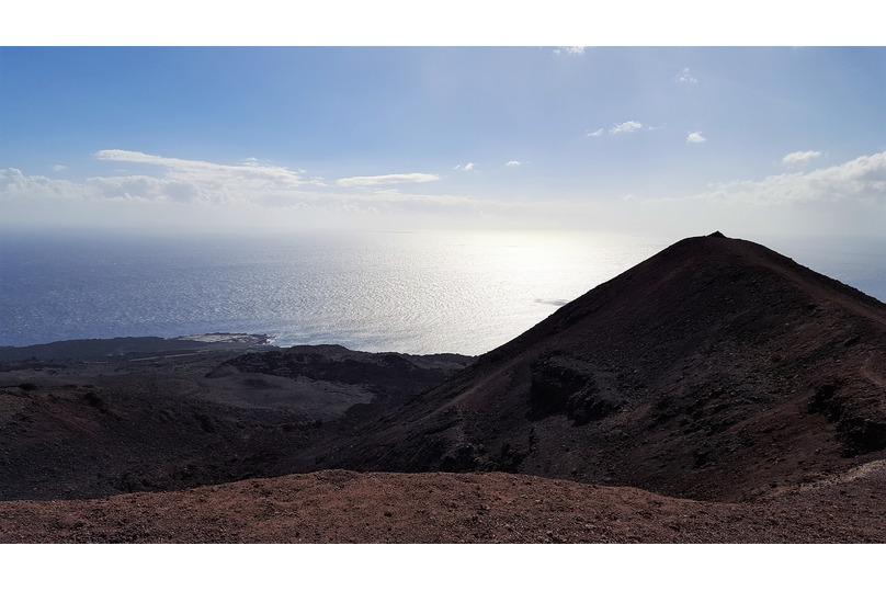Volcán de Teneguía en La Palma