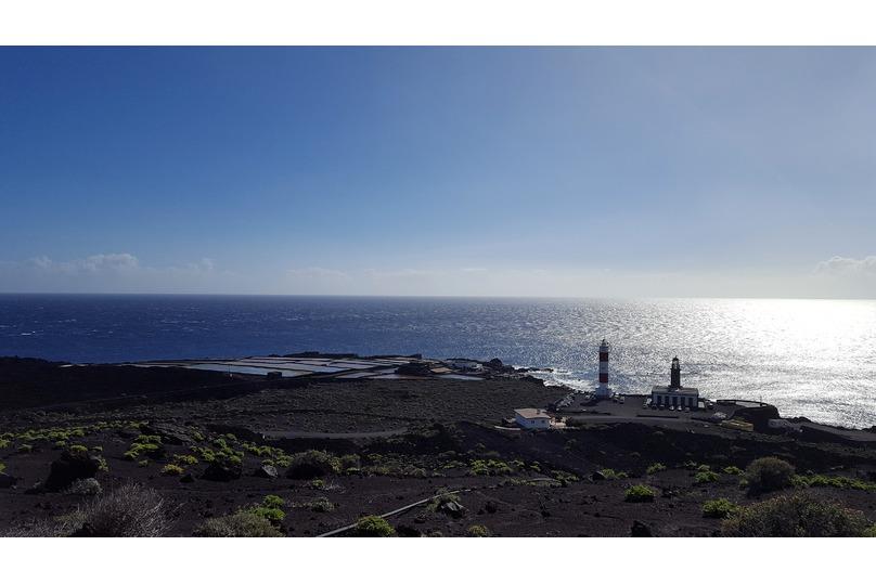 Faro y Salinas de Fuencaliente en La Palma