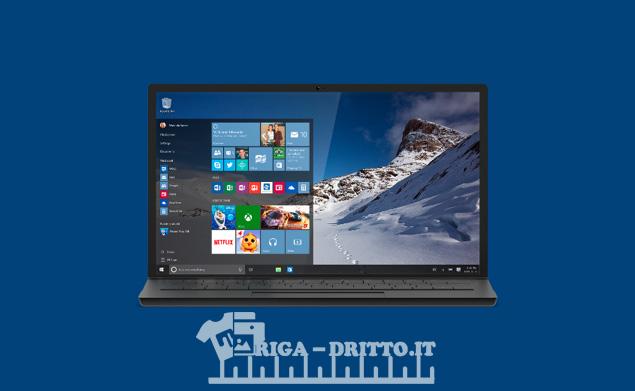 Scopri coe poter scaricare da solo Windows 10