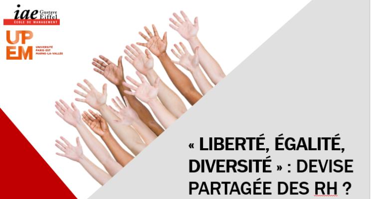 Liberté, Égalité, Diversité ...?