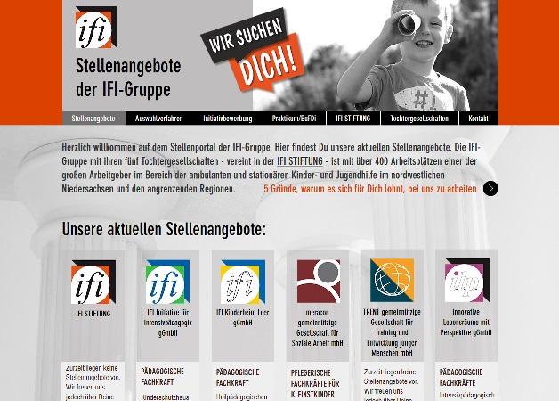 Screenshop www.unsere-stellenangebote.de