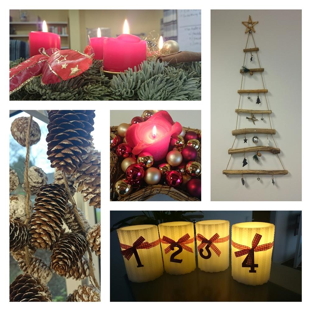 Collage Weihnachten 2014