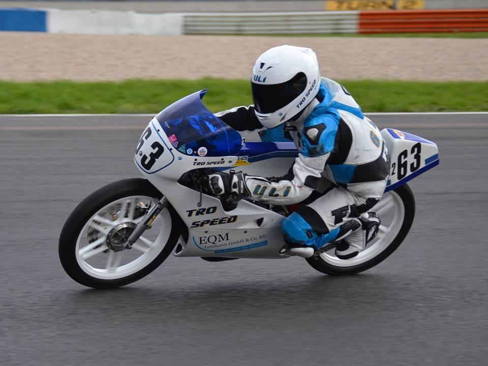 Rennfahrer und Motorradbauer aus Leidenschaft