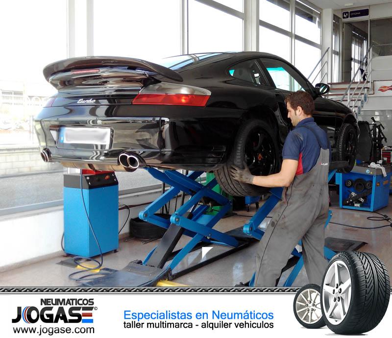 Cambio de neumáticos en Jogase Alicante