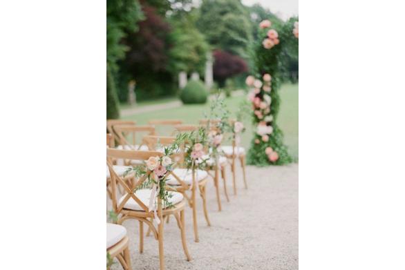 utdoor Garden Wedding Ceremony