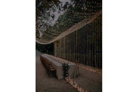 Curtain Light Canopy