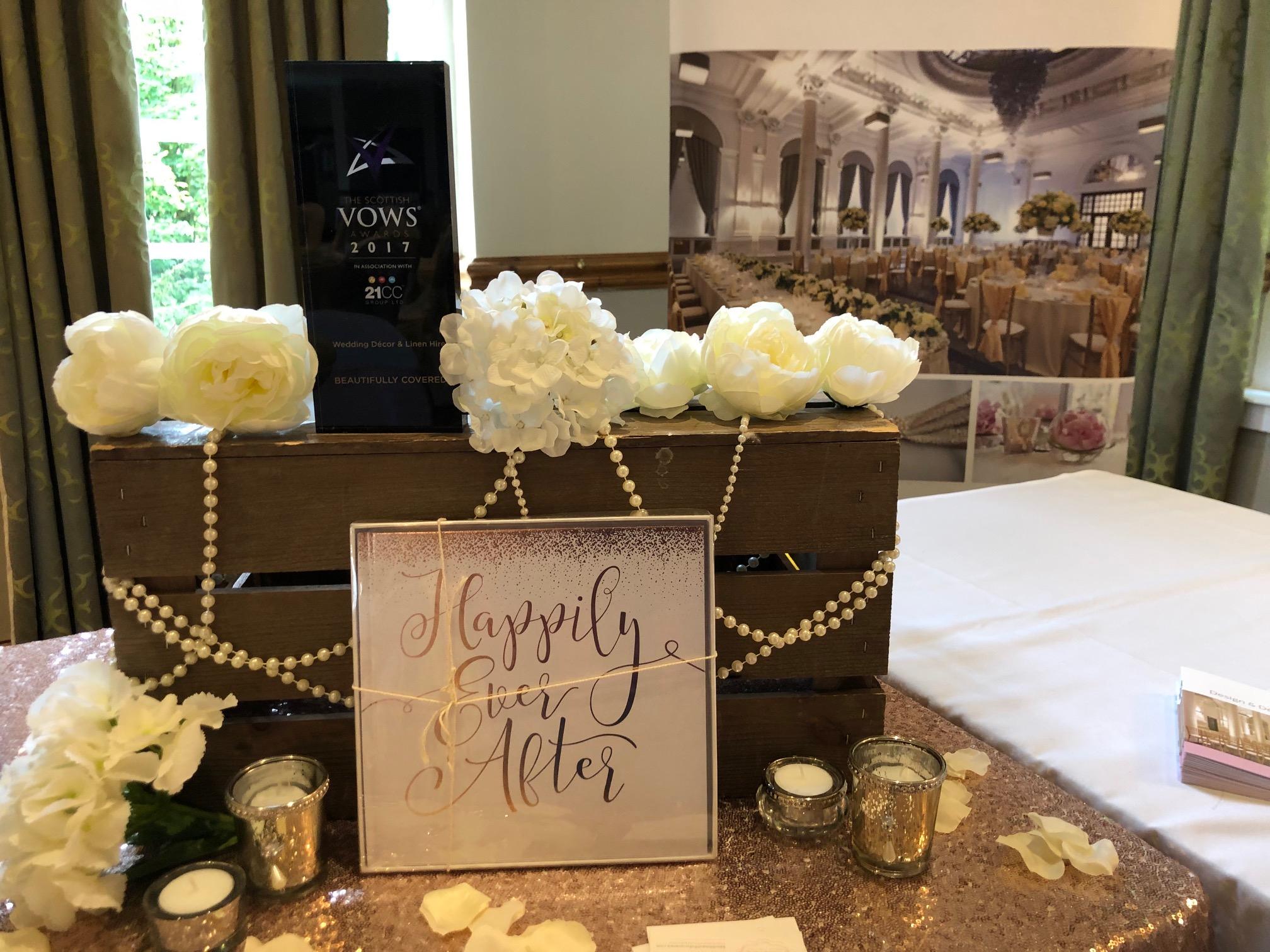 Wedding Fair Table