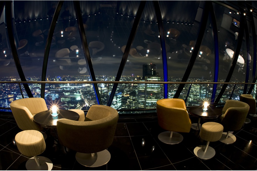 The London Gherkin, corporate event