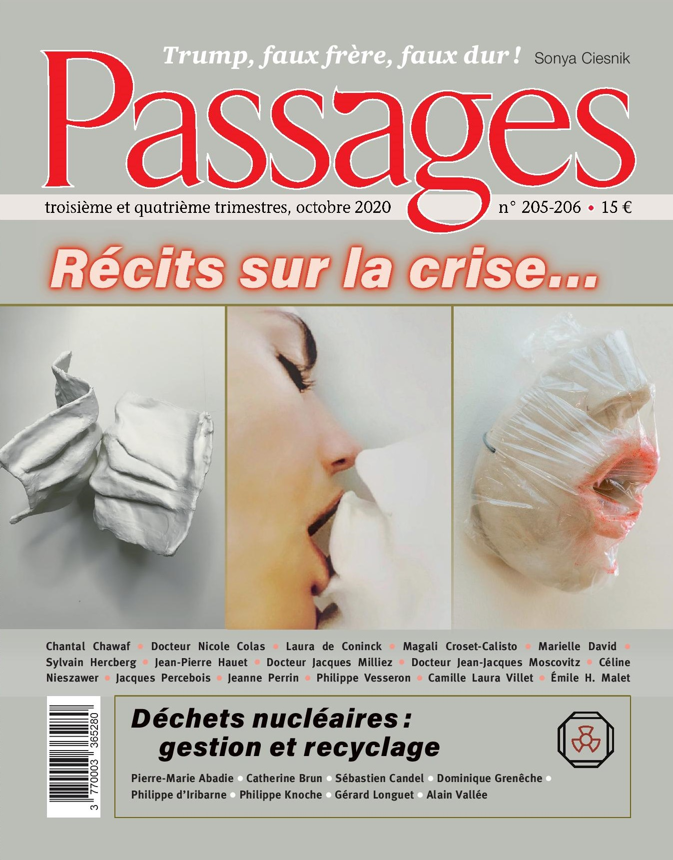 Abonnement à la revue Passages pour 10 numéros