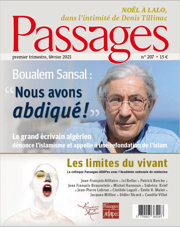 Abonnement à la revue Passages pour 5 numéros