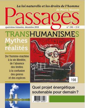 N° 198 Forum Nucléaire - Transhumanismes