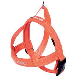 Harnais Quick fit orange taille S