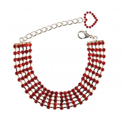 collier strass SOLDE 15€