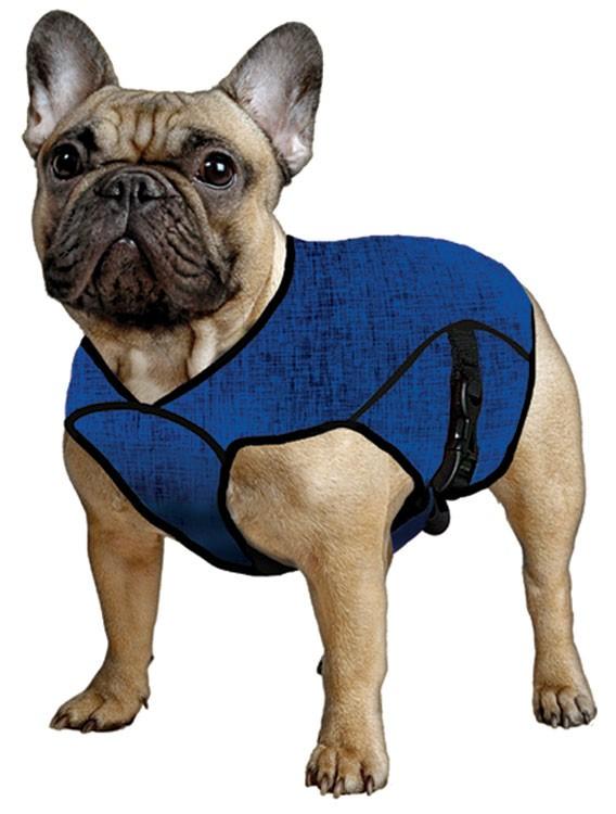 Manteau rafraîchissant bleu taille S