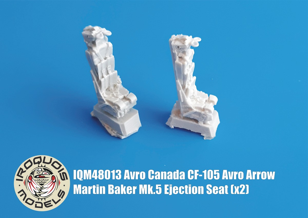 IQM48013 Avro Canada CF-105 Avro Arrow Martin Baker Mk.5 Ejection Seat (x2)
