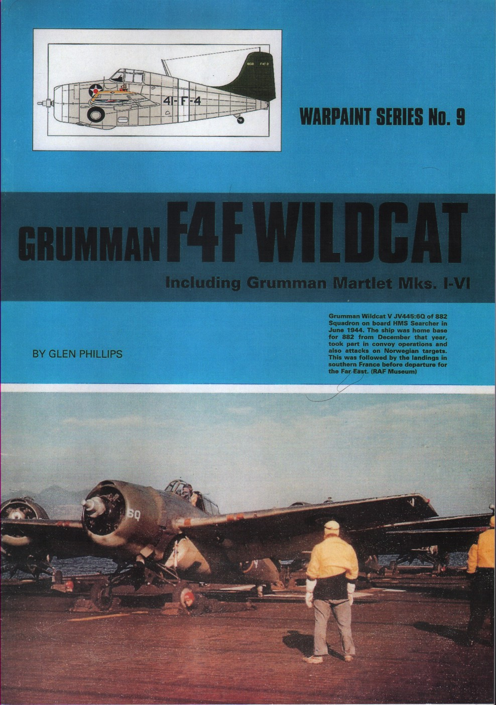 Warpaint Series 9 Grumman F4F Wildcat including Martlet Mk.I/Mk.VI